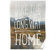 TAKE THE LONG WAY Poster