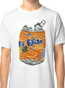 Fanta Orange - Crushed Tin Classic T-Shirt