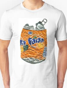 Fanta Orange - Crushed Tin Unisex T-Shirt