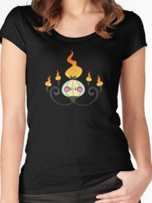 Shiny Chandelure Women's Fitted Scoop T-Shirt