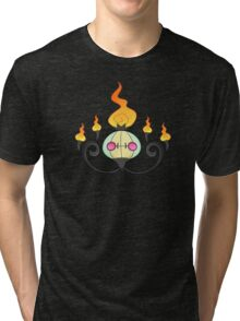 Shiny Chandelure Tri-blend T-Shirt