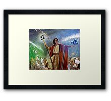Gaben the savior Framed Print