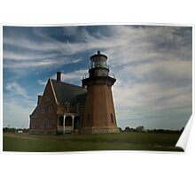 Block Island - South Lighthouse - 2 Poster