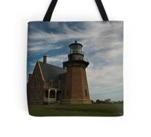 Block Island - South Lighthouse - 2 Tote Bag