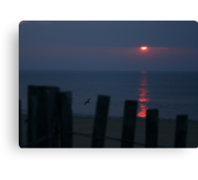 Dewey Beach Sunrise Canvas Print