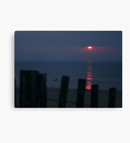 Dewey Beach Sunrise Canvas Print