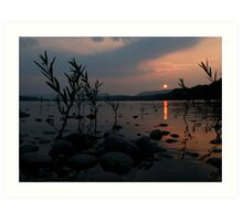 SUSQUEHANNA RIVER SUNSET Art Print