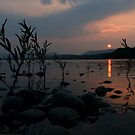 SUSQUEHANNA RIVER SUNSET by Lori Deiter