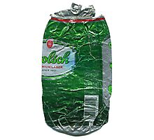 Grolsch - Crushed Tin Photographic Print