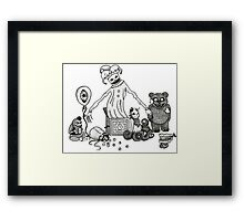 The Playroom Framed Print
