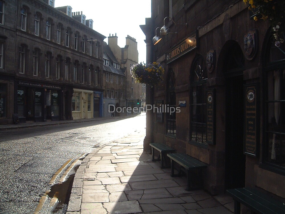 Bernard St,Carriers Quarters,Leith by DoreenPhillips