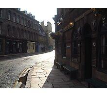 Bernard St,Carriers Quarters,Leith Photographic Print