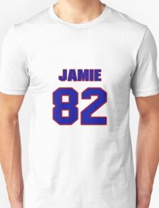 National football player Jamie McCoy jersey 82 T-Shirt