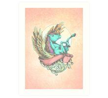 The Divine Stallion Art Print