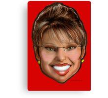 Sarah Palin Canvas Print