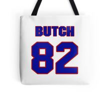 National football player Butch Rolle jersey 82 Tote Bag