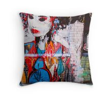 Melbourne Geisha Throw Pillow