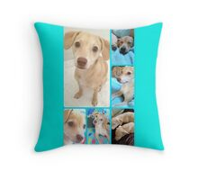 Puppy Sister's♡ Throw Pillow