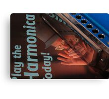 Mouth Organ Manual-Play the Harmonica Today Canvas Print