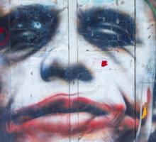 The Joker Sticker