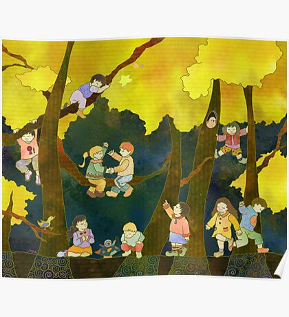 Children in Heaven Poster