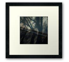 Concrete Framed Print