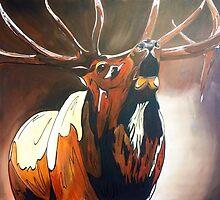 "Bull Elk ""Napoleon"" by Eric Houghland"