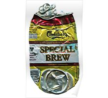 Special Brew - Crushed Tin Poster