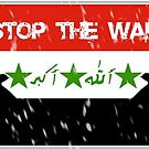 Stop the war in Iraq! by sarahs4190