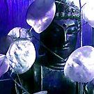Blue Buddha by Veronica Maur'er