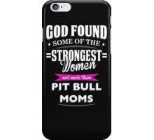 pit bull mom? iPhone Case/Skin