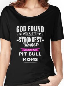 pit bull mom? Women's Relaxed Fit T-Shirt