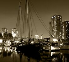 Boat Sepia by ajjj