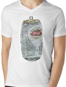 Stella Artois - Crushed Tin Mens V-Neck T-Shirt