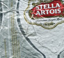 Stella Artois - Crushed Tin Sticker