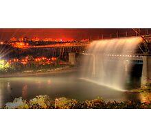 High Level Bridge Waterfall Photographic Print