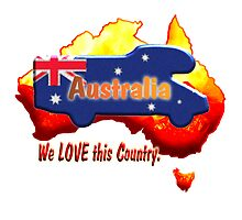 Motorhome on Australian colours. by Jose M.F. Rebelo