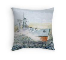Warship series #5 Throw Pillow