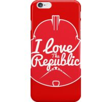 I LOVE THE REPUBLIC iPhone Case/Skin
