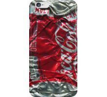 Coca Cola - Crushed Tin - 2 iPhone Case/Skin