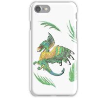 """""""Ancient Wings"""" Quetzalcoatl Feathered Dragon iPhone Case/Skin"""