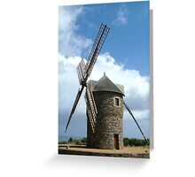 moulin d'Aquitaine Greeting Card