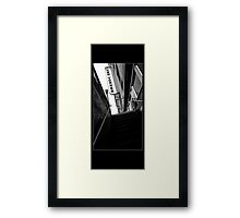 Room at the Top Framed Print