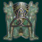 Horus Cats by spiralmirror