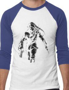 Stylized Legend of Zelda Link Men's Baseball ¾ T-Shirt