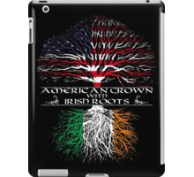 American Grown with Irish Roots iPad Case/Skin
