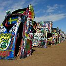 Cadillac Ranch - Amarillo, Texas by LizzieMorrison