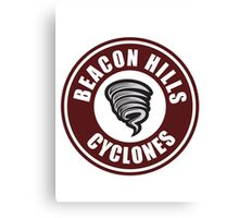 Beacon Hills Cyclones Teen Wolf Canvas Print