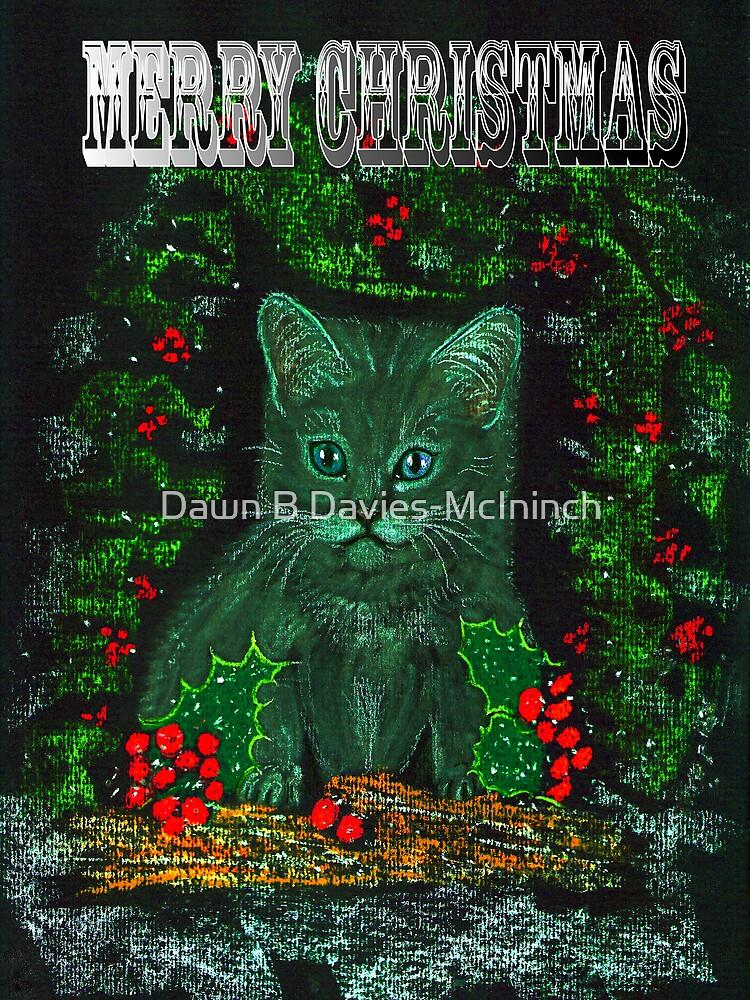 Christmas Kitty by Dawn B Davies-McIninch