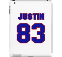 National football player Justin Armour jersey 83 iPad Case/Skin